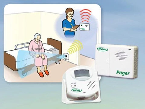 Bedside Motion Sensor & Pager