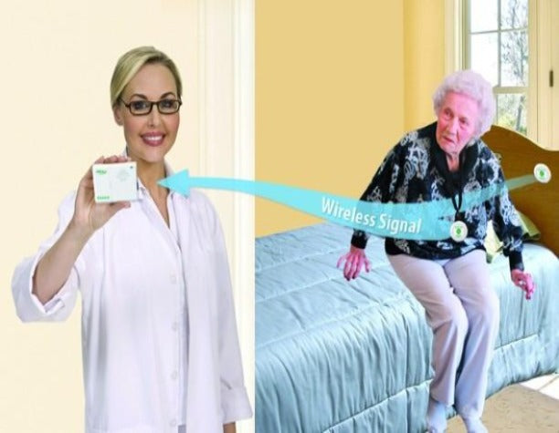 Simple Patient Call Buttons With Pager - Use In Home So Patient Can Call Carer