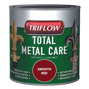 Triflow Metal Care For Gates & Railings 1L Red Smooth