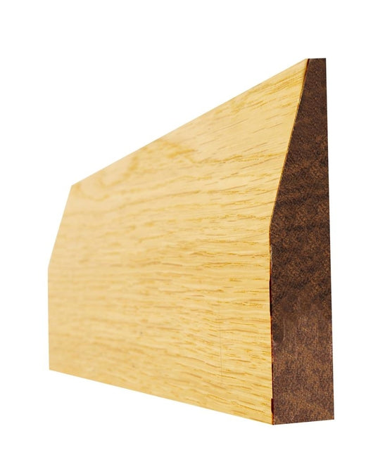 Indoors Oak 4 In Chamfered Pre-Fin Arch 16X95X2.2M(5Pcs)