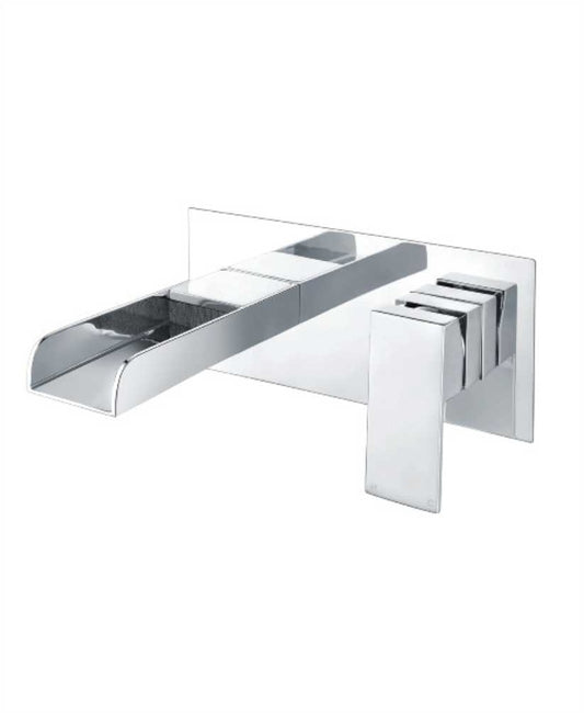 Sonas Bingley Wall Mounted Basin Mixer With Easy Box