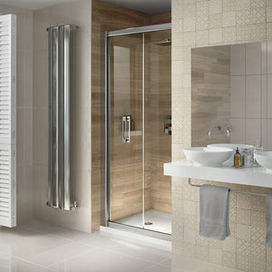 Image Showers i6 Bifold Door 6mm glass
