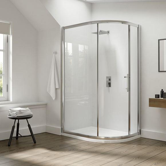 Image Showering I8 1 Door Quadrant 8mm Glass