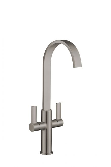 Jeroni Swept Kitchen Tap - Available in 7 Finish Options