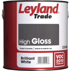 Leyland 5L Paint in Brilliant White