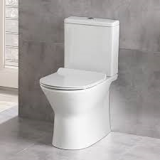 Maria Rimless Back to Wall Closed Coupled Toilet