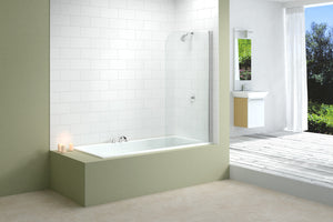 Merlyn Single Curved Fixed Bath Panel MB1