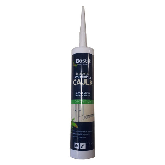 Bostik Instant Paintable Caulk 310ml