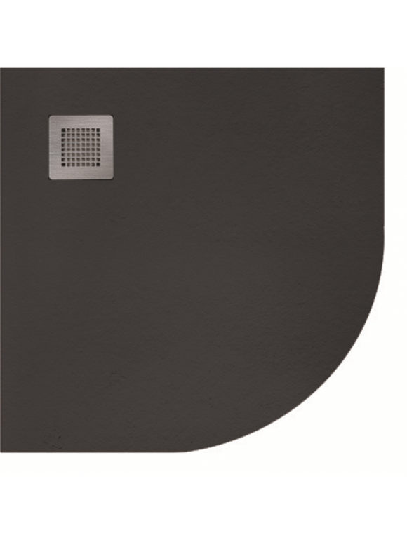 KRISTAL Slate Quadrant Shower Tray 900mm