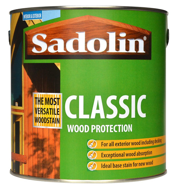 Sadolin Classic Wood Protection 5L Redwood