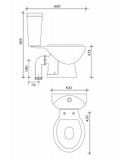 Strata Comfort Height WC Soft Close Seat