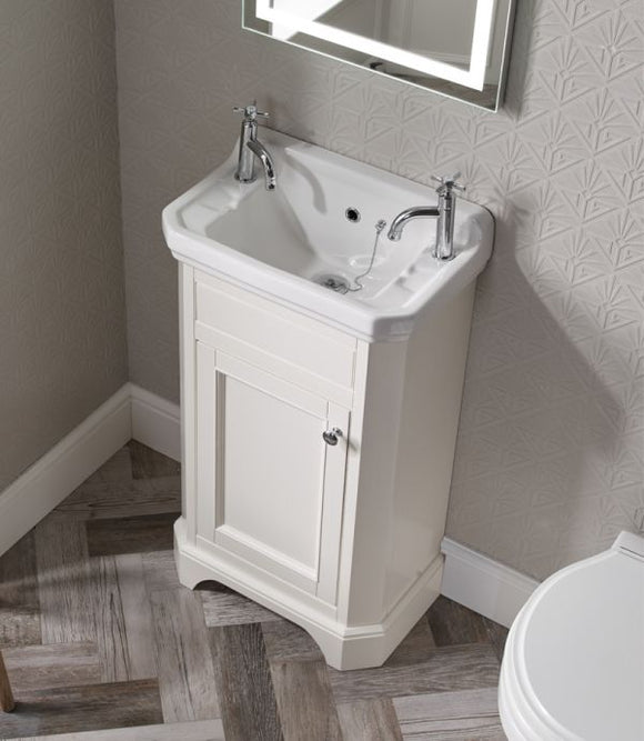 Vitoria 500mm Cloakroom Unit & Basin