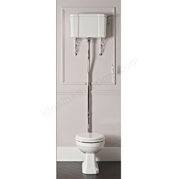 Vitoria High Level Pan, Cistern & Seat (WHITE)