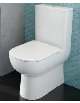Viva Comfort Height Fully Shrouded WC - Soft Close Seat