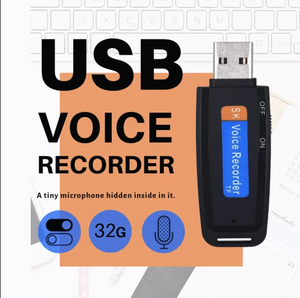 Load image into Gallery viewer, USB Voice Recorder