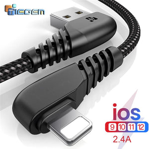 Load image into Gallery viewer, Unbreakable Iphone Fast Charging Cable/ Tactical Charger