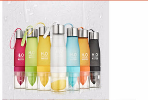 Load image into Gallery viewer, Stylish Fruit Infuser Water Bottle