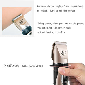 Low Noise Pet Hair Clipper