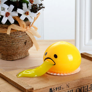 Load image into Gallery viewer, Puking Egg Yolk Stress Ball