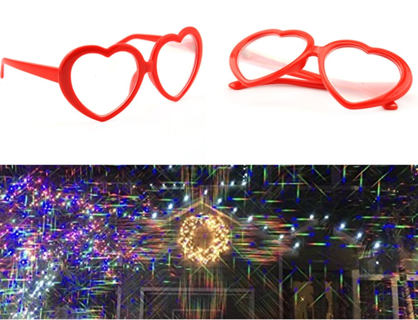Heart Light Glasses