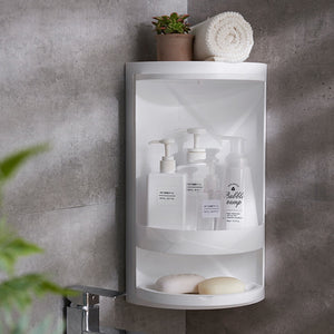 Load image into Gallery viewer, Large Capacity Bathroom Rotating Shelving (LARGE UPGRADED VERSION)