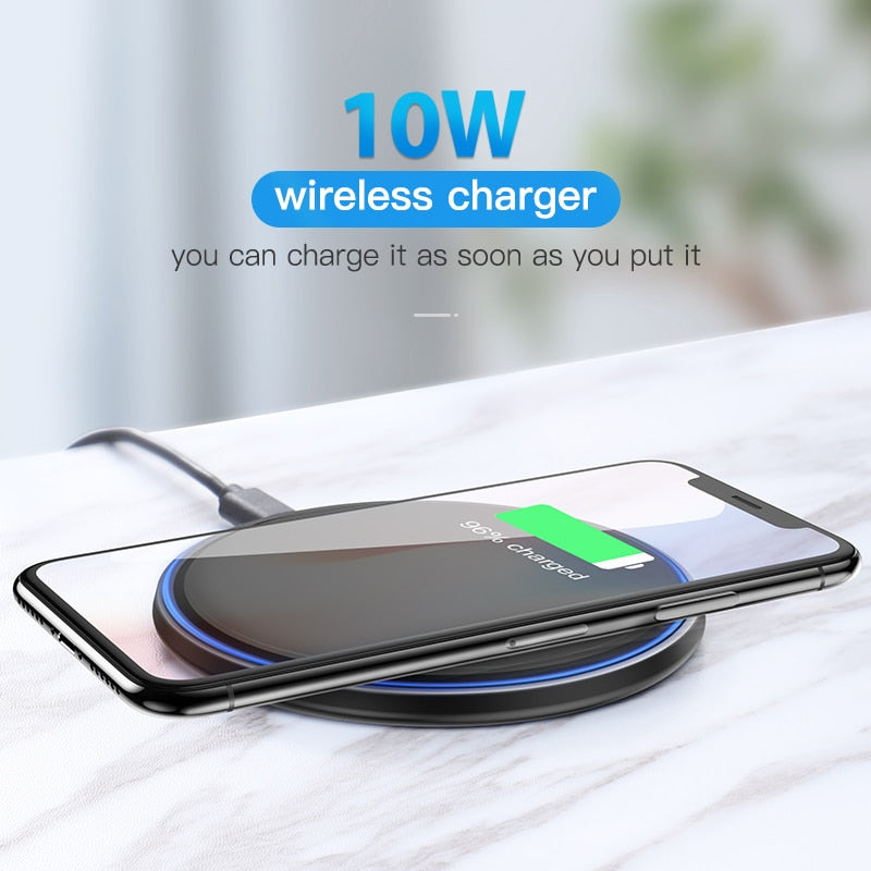 10W Qi Wireless Fast Charger