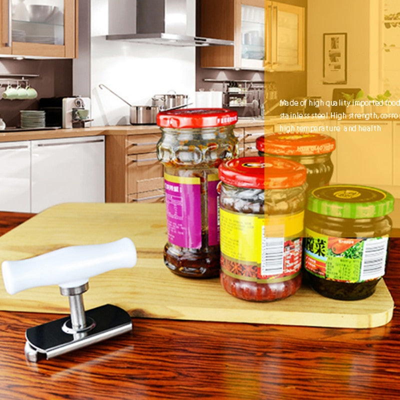 Adjustable Labor Saving Can Opener