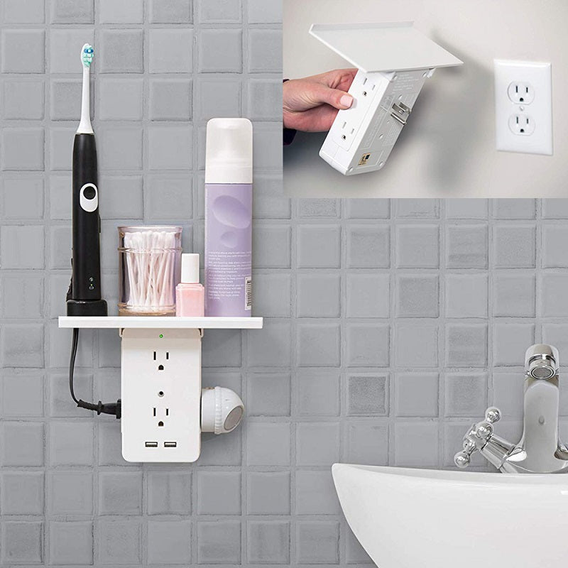 Load image into Gallery viewer, USB Charging Ports & Removable Socket Shelf