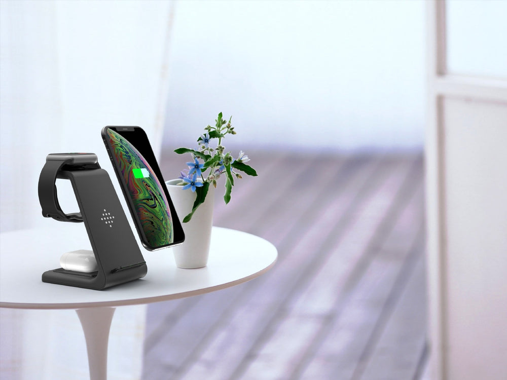 3 in 1 Fast Wireless Charging