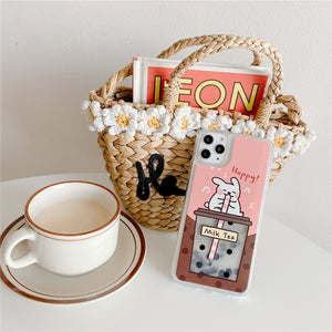 Load image into Gallery viewer, Cute Milk Tea Phone Case