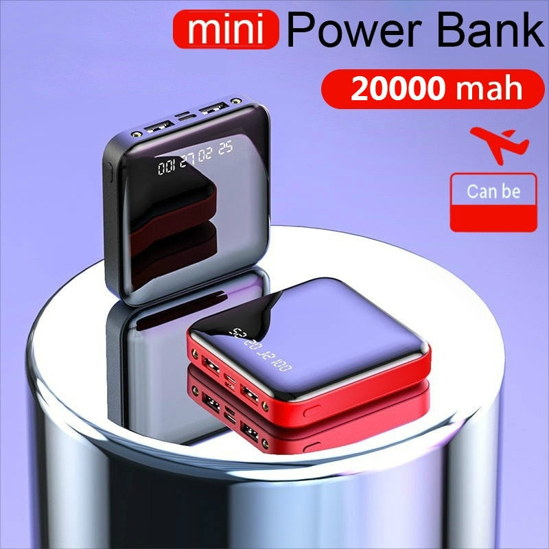 20000 mAh Large Capacity Fashion Mini Power Bank
