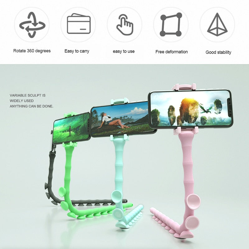 Bluetooth Caterpillar Phone Holder