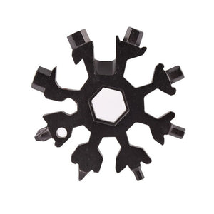 18-in-1 Snowflake multi-tool (Stainless Steel)