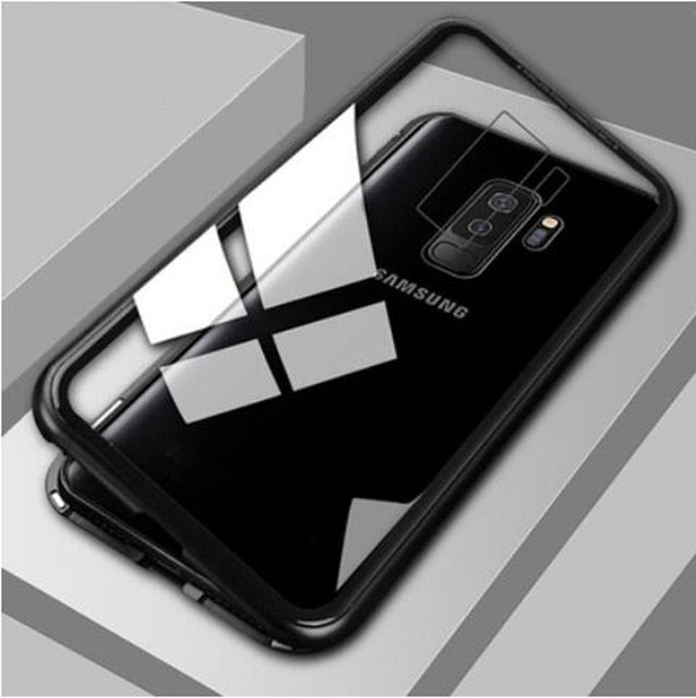 Load image into Gallery viewer, Metal Magnetic Case For Samsung Models