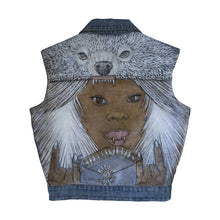 Load image into Gallery viewer, Aeternal Killah Sound Denim Vest