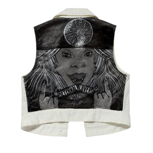 Aeternal Lovers Killa Sound III Denim Vest