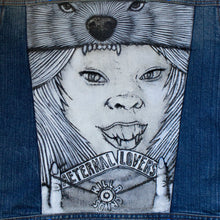 Load image into Gallery viewer, Aeternal Lovers Killa Sound Denim Vest