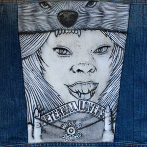 Aeternal Lovers Killa Sound Denim Vest
