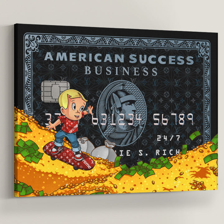 Supreme Richie Rich American Success Credit Card