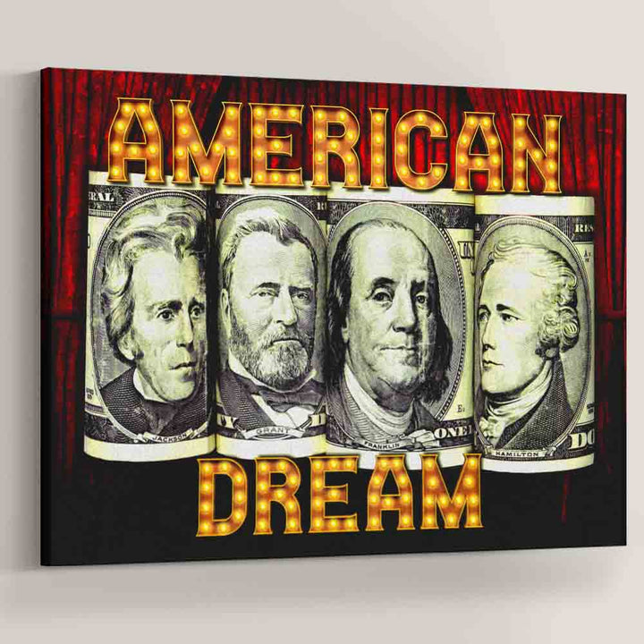 American Dream Motivational Decoration