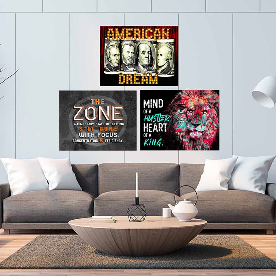 Best art Bundle Mind of a Hustler Heart of a King, American Dream, In the Zone