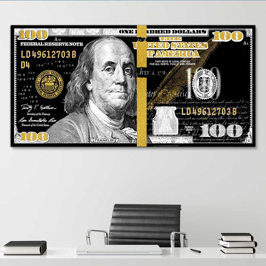 "Royal Benjamin Money Art by Symbolic Designs. Money, Money, Money! Introducing ""Royal Benjamin Money Art"" a part of our Cash Money Collection."