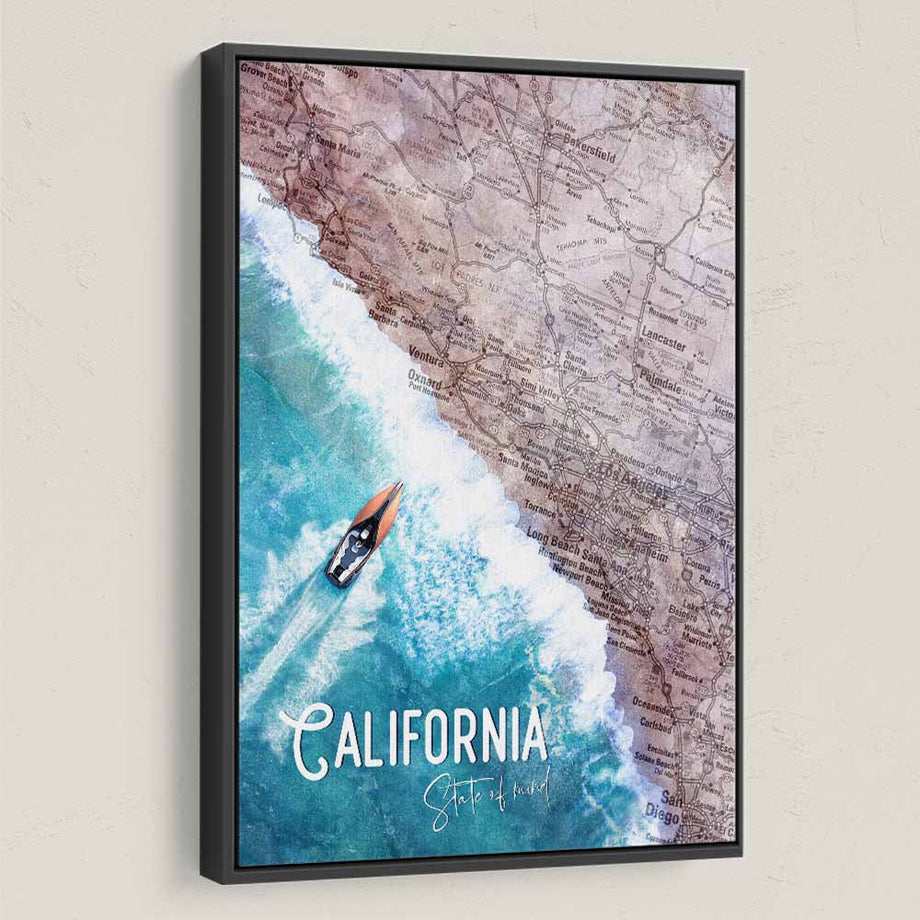 California State Of Mind - Symbolic Designs