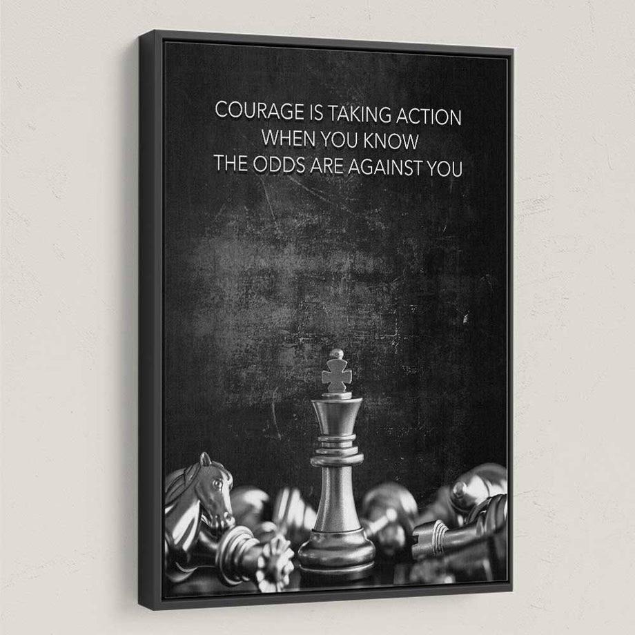 Courage Chess - Symbolic Designs
