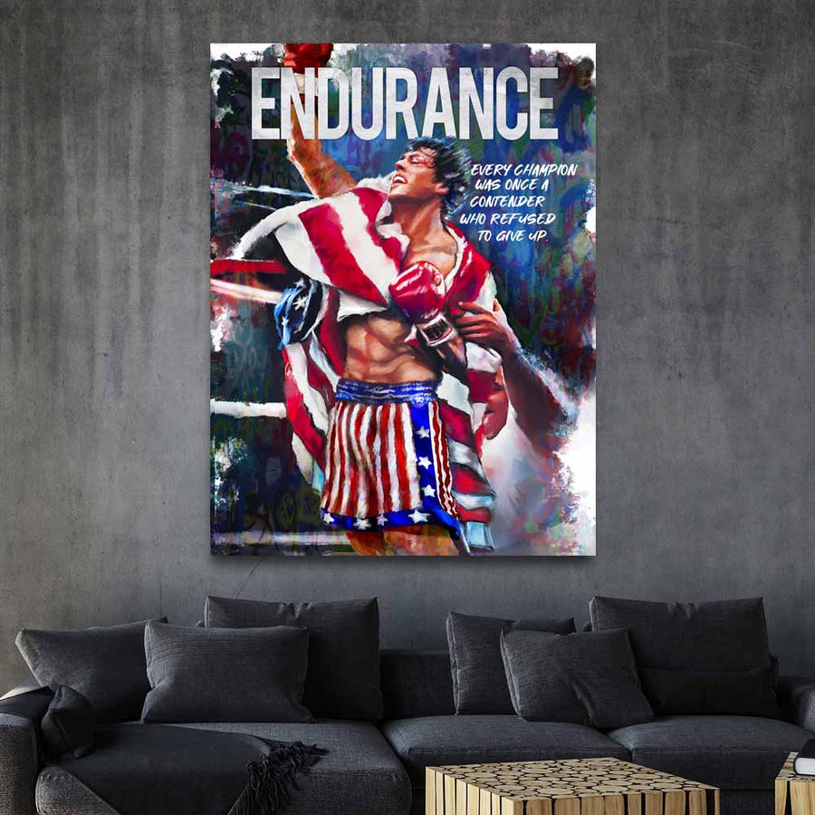 Endurance Movie Quote - Symbolic Designs