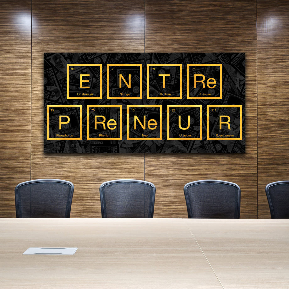 Entrepreneur Molecule Periodic Table of Elements Science