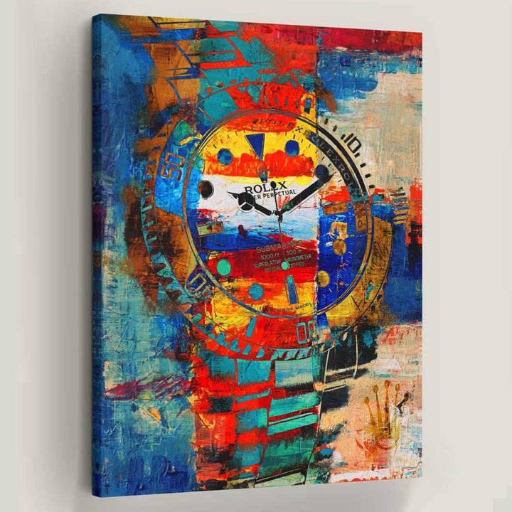Fuego Rolex Canvas Art