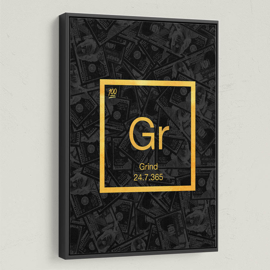 """Grind Element"" a part of our Elements of Success Collection."