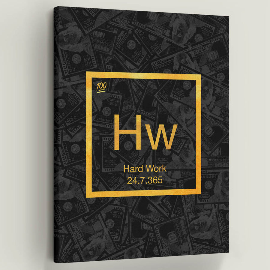 """Hard Work Element"" a part of our Elements of Success Collection."