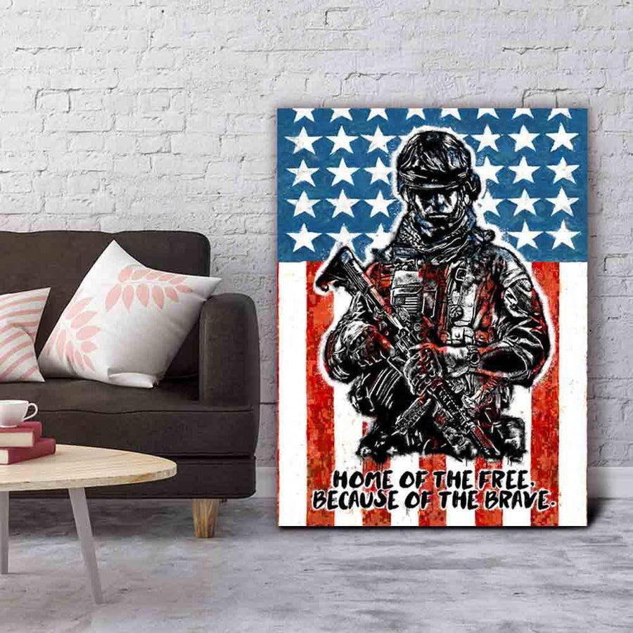 Home Of The Brave - Symbolic Designs